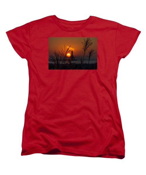 Points Of Light Women's T-Shirt (Standard Cut) by James  Meyer