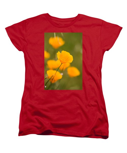 Women's T-Shirt (Standard Cut) featuring the photograph Poppy I by Ronda Kimbrow