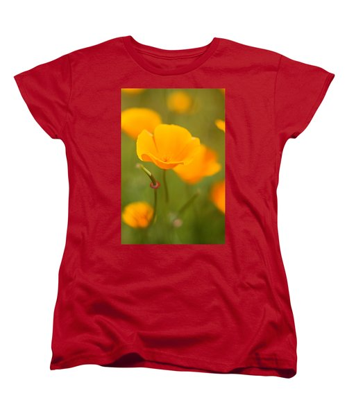 Women's T-Shirt (Standard Cut) featuring the photograph Poppy II by Ronda Kimbrow