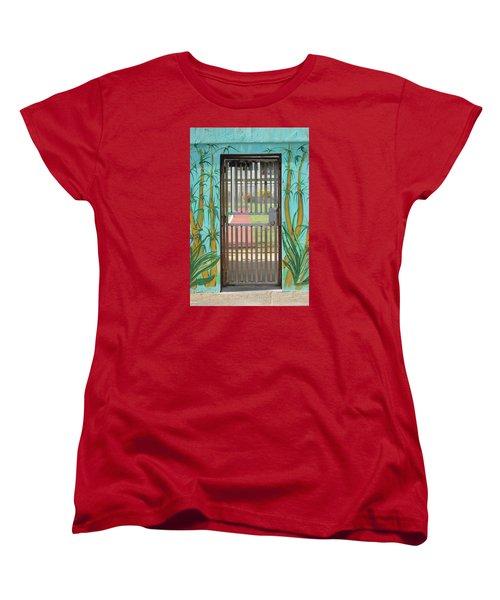 Porton Cerrado Women's T-Shirt (Standard Cut) by The Art of Alice Terrill