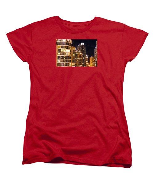 Women's T-Shirt (Standard Cut) featuring the photograph Posh Neighbors Dccxl by Amyn Nasser