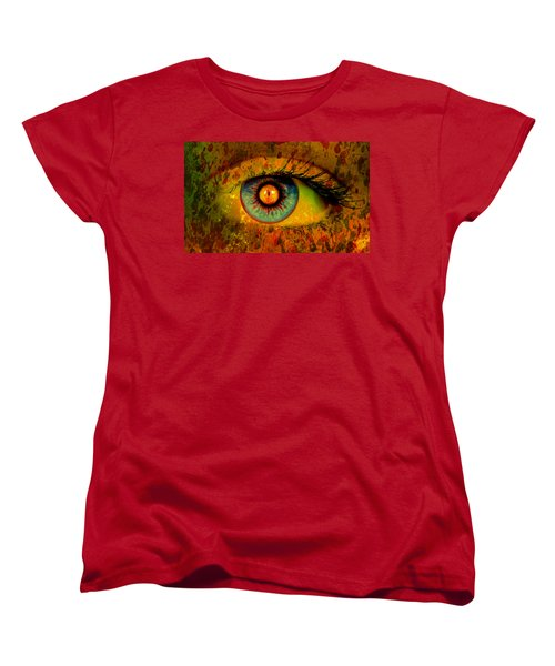 Possessed Women's T-Shirt (Standard Cut) by Ally  White