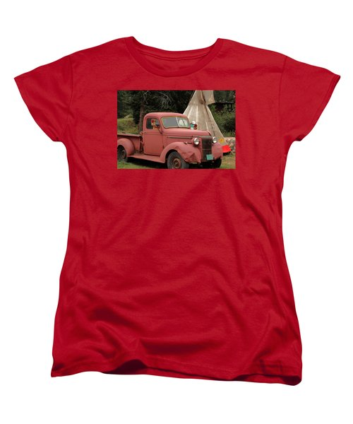 Women's T-Shirt (Standard Cut) featuring the photograph Postcard From Yesterday by Lynn Sprowl
