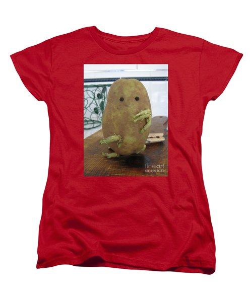 Potato Man Women's T-Shirt (Standard Cut) by Samantha Geernaert