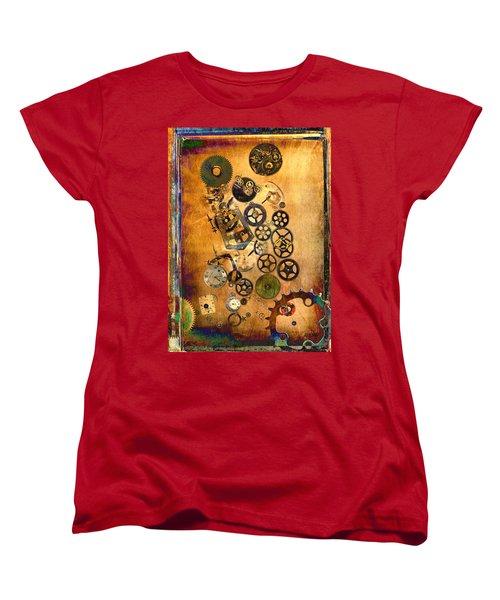 Present Women's T-Shirt (Standard Cut) by Fran Riley