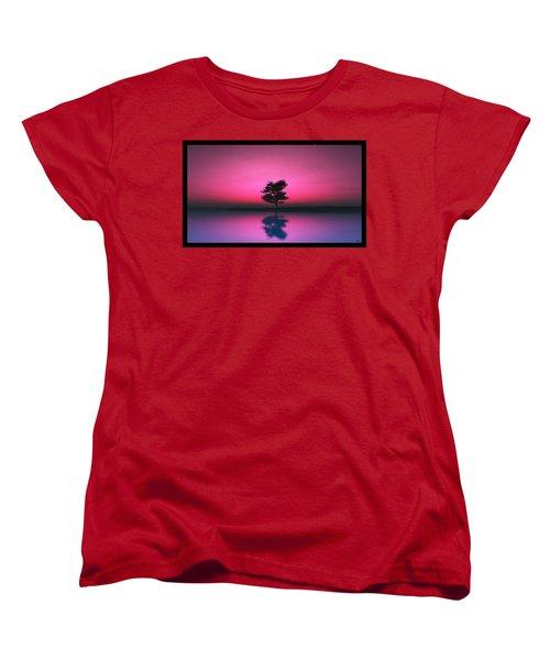 Purple Sky... Women's T-Shirt (Standard Cut)