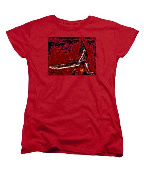 Pyramid Head Women's T-Shirt (Standard Cut) by Joe Misrasi
