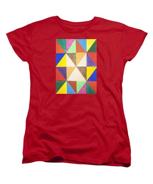 Pyramids 2 Women's T-Shirt (Standard Cut) by Stormm Bradshaw