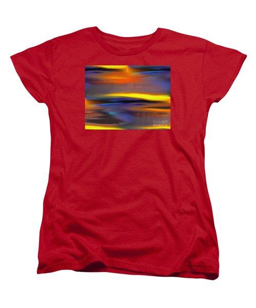 Soft Rain Women's T-Shirt (Standard Cut) by Yul Olaivar