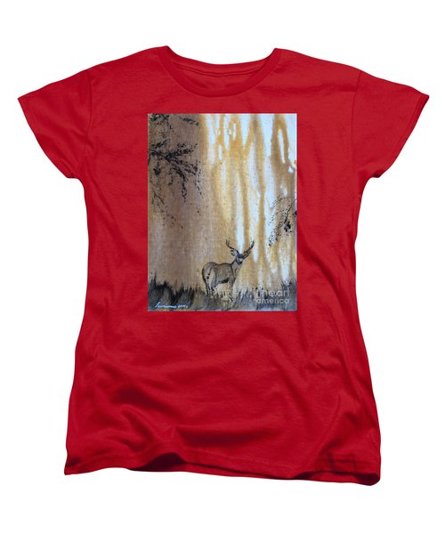 Quiet Time2 Women's T-Shirt (Standard Cut) by Laurianna Taylor