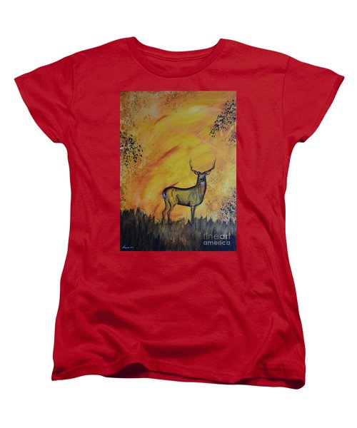 Quiet Time3 Women's T-Shirt (Standard Cut) by Laurianna Taylor