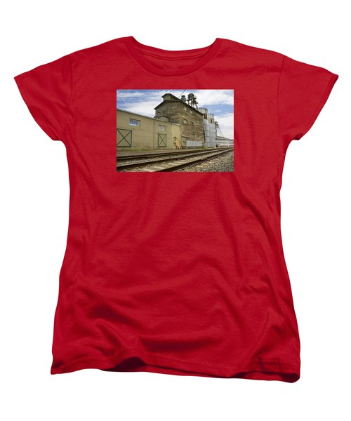 Railway Mill Women's T-Shirt (Standard Cut) by Sonya Lang