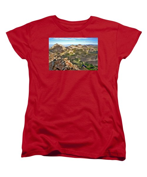 Reason To Climb Women's T-Shirt (Standard Cut) by Jeremy Rhoades