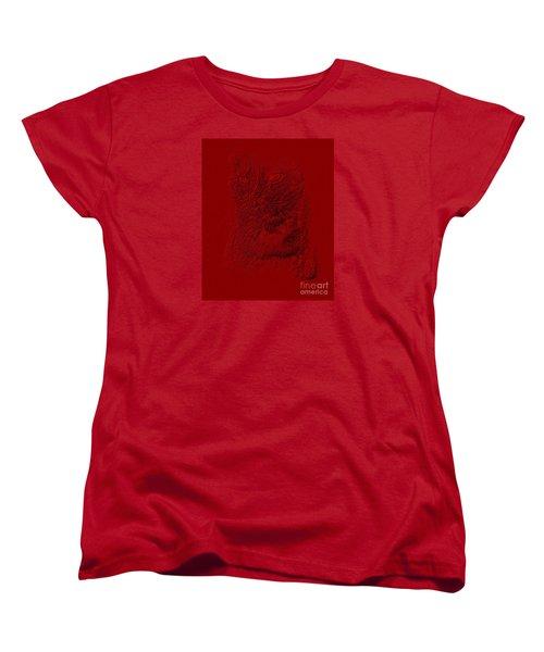 Red Cat Collection. Special... Women's T-Shirt (Standard Cut) by Oksana Semenchenko