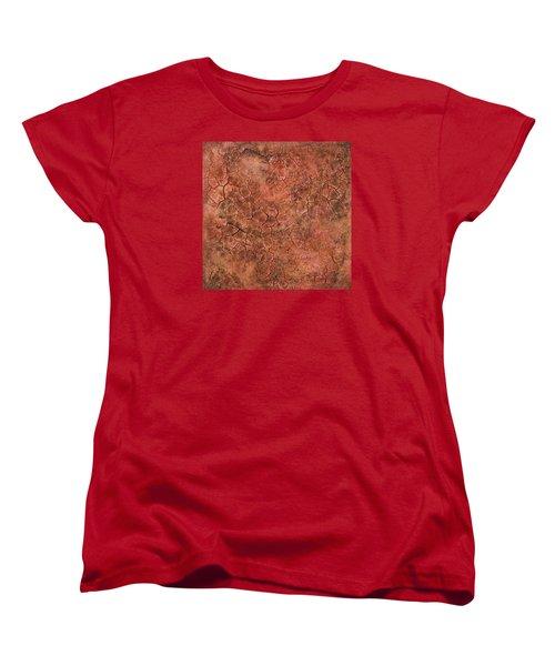 Red Eye Women's T-Shirt (Standard Cut) by Alan Casadei