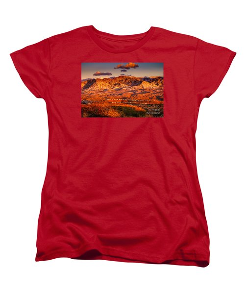 Women's T-Shirt (Standard Cut) featuring the photograph Red Planet by Mark Myhaver