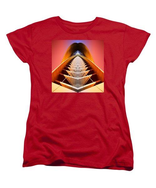 Red Shift Women's T-Shirt (Standard Cut) by Wayne Sherriff