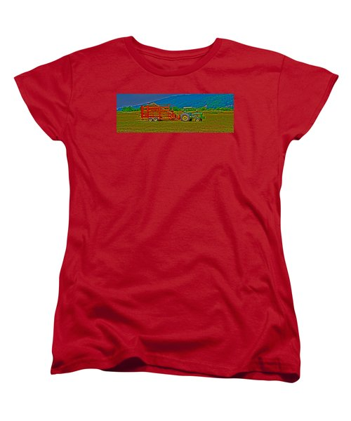 Redwood Ca Women's T-Shirt (Standard Cut) by Richard J Cassato