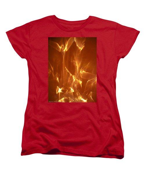 Women's T-Shirt (Standard Cut) featuring the photograph Reflected Angel by Leena Pekkalainen