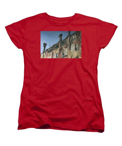 Reflection 6 Women's T-Shirt (Standard Cut) by Ron Harpham