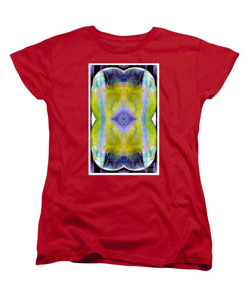 Women's T-Shirt (Standard Cut) featuring the photograph Reflections In Ice by Nina Silver