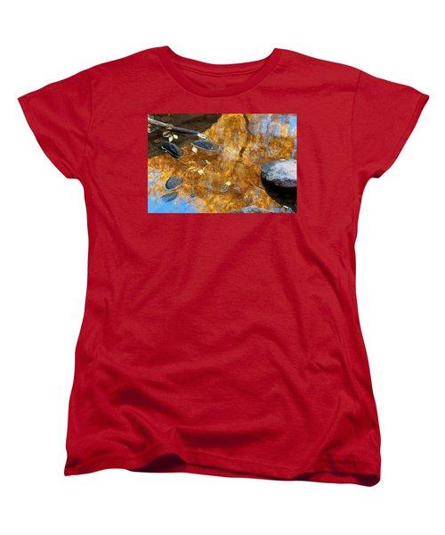 Women's T-Shirt (Standard Cut) featuring the photograph The Melting Pot by Jim Garrison