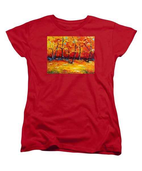 Resting In Your Shadow Women's T-Shirt (Standard Cut) by Meaghan Troup