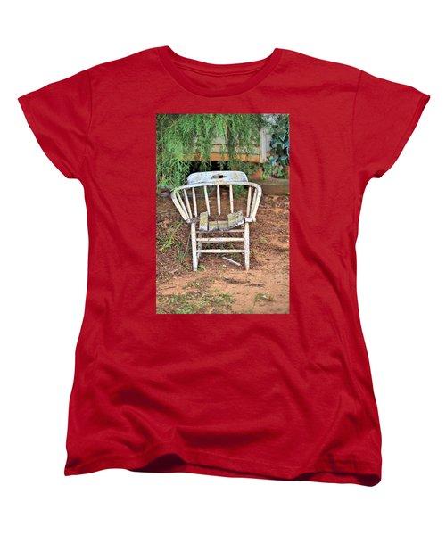Women's T-Shirt (Standard Cut) featuring the photograph Retired by Gordon Elwell