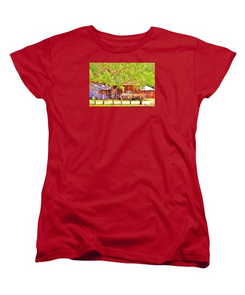 Women's T-Shirt (Standard Cut) featuring the photograph Retired by Marilyn Diaz