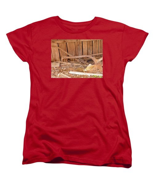 Women's T-Shirt (Standard Cut) featuring the photograph Retired Tools by Nick Kirby