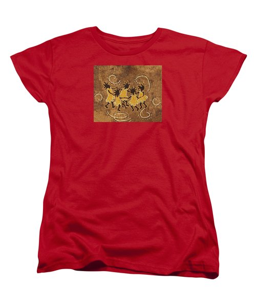 Ring-around-the Rosie Women's T-Shirt (Standard Cut) by Katherine Young-Beck