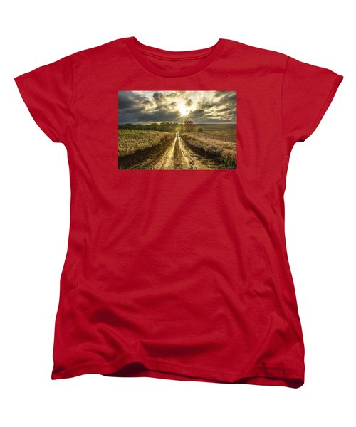 Road To Nowhere Women's T-Shirt (Standard Cut) by Aaron J Groen