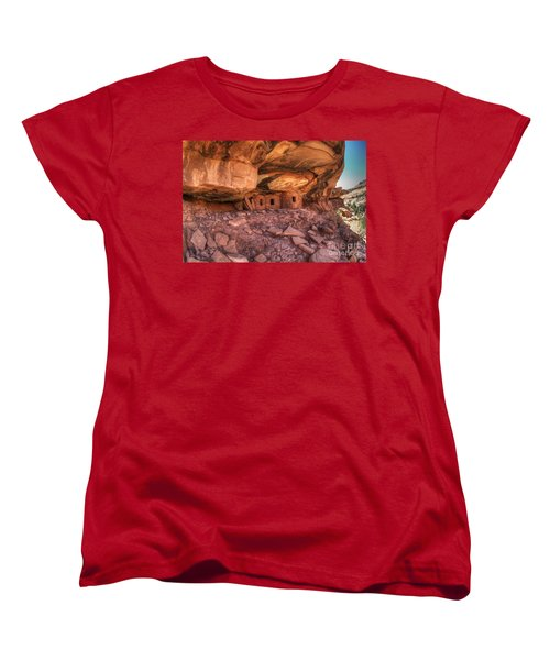 Roof Falling In Ruin 2 Women's T-Shirt (Standard Cut) by Bob Christopher