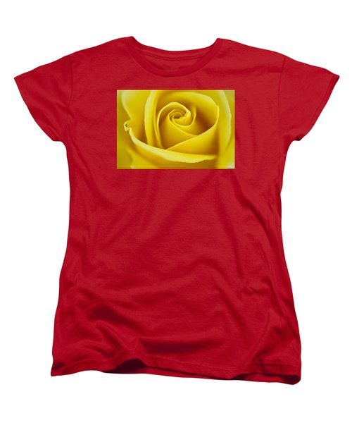 Women's T-Shirt (Standard Cut) featuring the photograph Rosa 'freedom' by Lana Enderle