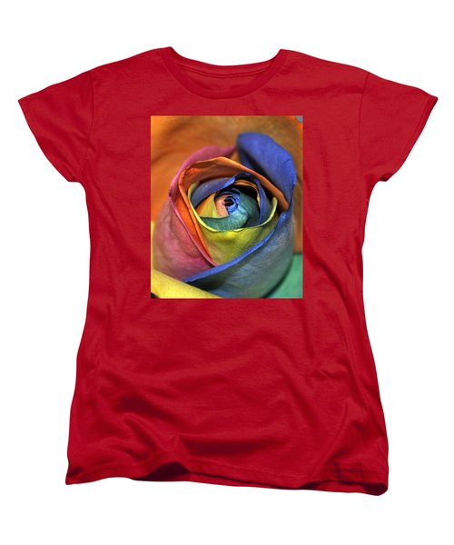 Rose Of Equality Women's T-Shirt (Standard Cut)