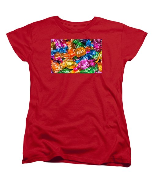 Roses Sweets Women's T-Shirt (Standard Cut) by Matt Malloy
