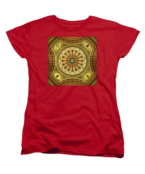 Women's T-Shirt (Standard Cut) featuring the photograph Rotunda by Joseph Skompski
