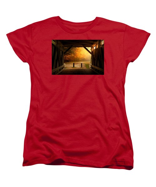 Rustic Beauty Women's T-Shirt (Standard Cut) by Rob Blair