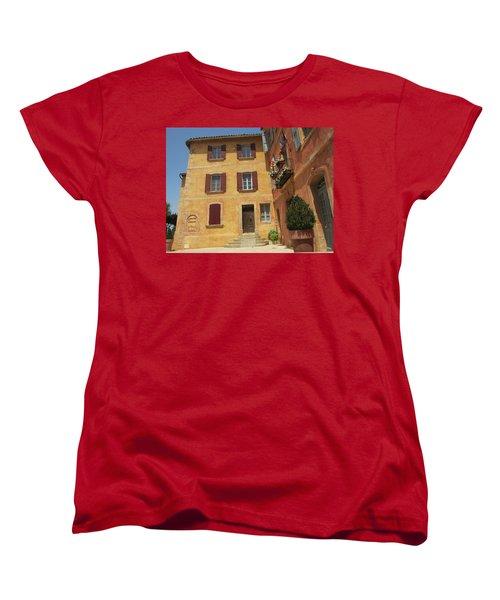 Women's T-Shirt (Standard Cut) featuring the photograph Rustic Charm by Pema Hou