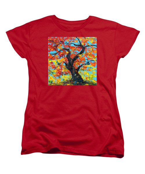 Safely Abiding Women's T-Shirt (Standard Cut) by Meaghan Troup