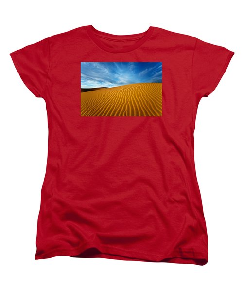 Sands Of Time Women's T-Shirt (Standard Cut) by Darren  White