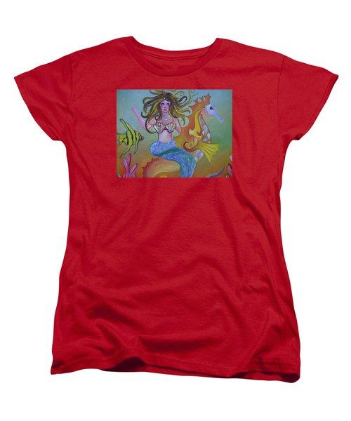 Sea Taxi Women's T-Shirt (Standard Cut)