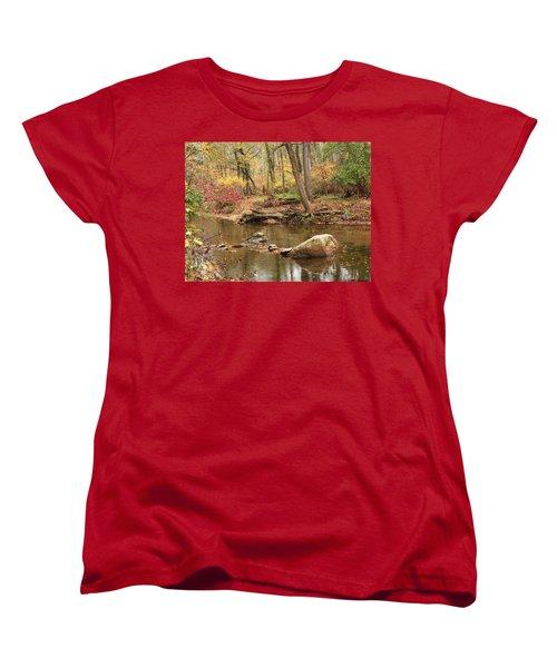 Shades Of Fall In Ridley Park Women's T-Shirt (Standard Cut) by Patrice Zinck