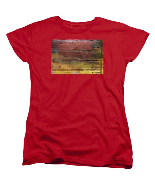 Shades Of Red And Yellow Women's T-Shirt (Standard Cut) by Ron Harpham