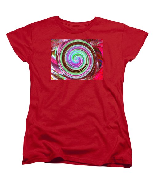 Women's T-Shirt (Standard Cut) featuring the digital art Shell Shocked by Catherine Lott