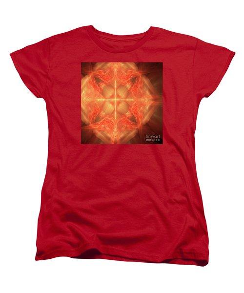 Women's T-Shirt (Standard Cut) featuring the digital art Shield Of Faith by Margie Chapman