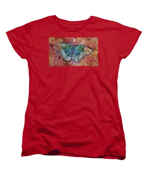 Shimmer Wings Women's T-Shirt (Standard Cut) by Ruth Kamenev