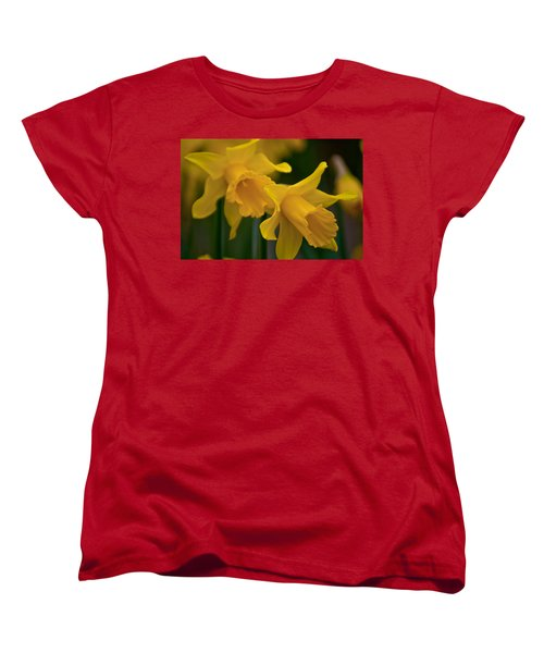 Shout Out Of Spring Women's T-Shirt (Standard Cut) by Tikvah's Hope