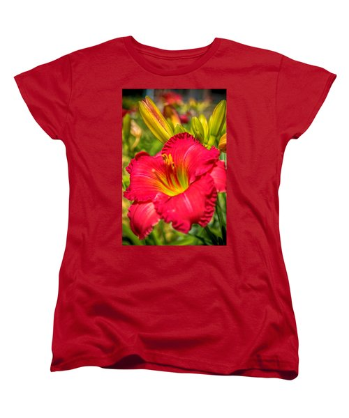 Simple Lily Women's T-Shirt (Standard Cut) by James  Meyer