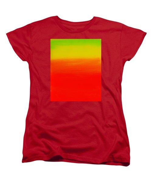 Simply Rasta Women's T-Shirt (Standard Cut) by Jean Cormier
